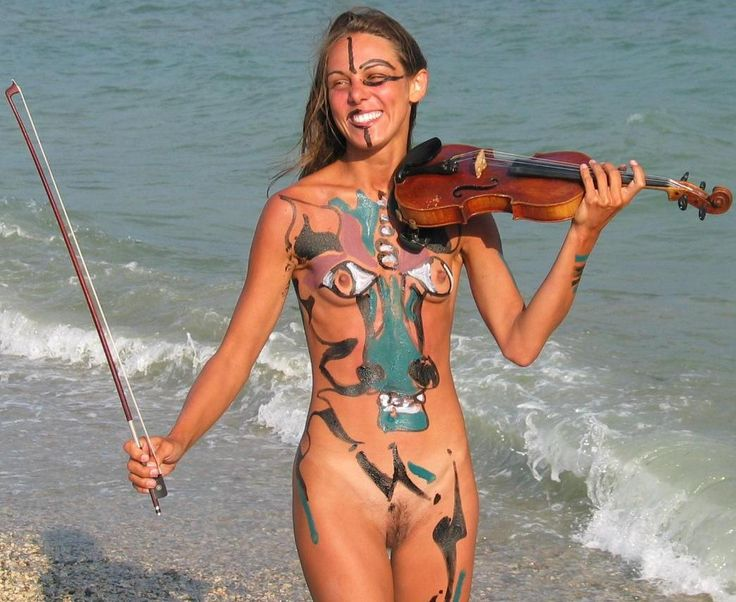 ukulele women nude and naked