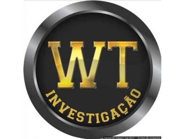 A WT Detetive Particular é uma pessoa jurídica, legalmente constituída, instalada na cidade de São Paulo – SP e atua há mais de 23 anos ininterruptos no fornecimento de equipamentos e prestação de serviços de investigação para pessoas e empresas em todo Brasil. A WT dispõe de uma equipe de investigadores e pesquisadores profissionais voltados para os mais diversos ramos das Investigações e...