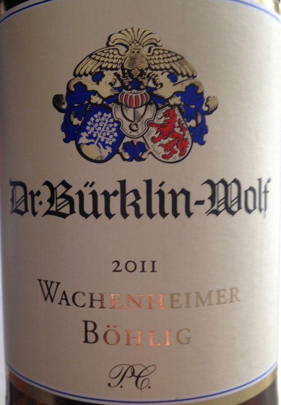2011 Wachenheimer Böhlig P.C., Bürklin Wolf