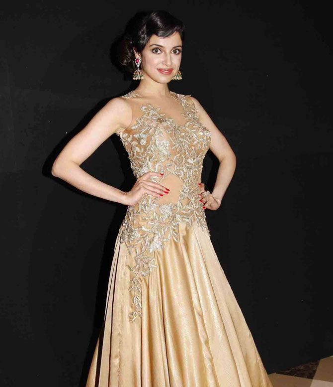 Divya Khosla Kumar at a fashion show organised by 'Beti', an NGO. #Bollywood #Fashion #Style #Beauty