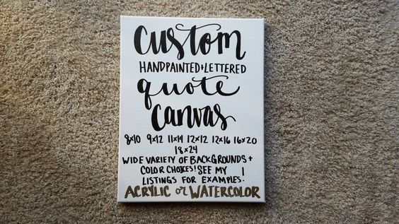 Custom Quote Canvas Home Decor Quotes On Canvas Custom Canvas Quote Art Nursery Bedroom Wedding Anniversary Gift Graduation Christmas Gift by ArtOfWordsBoutique on Etsy