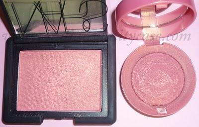 Nars Orgasm Blush DUPE : Bourjois Lilas D'or #33 #makeup