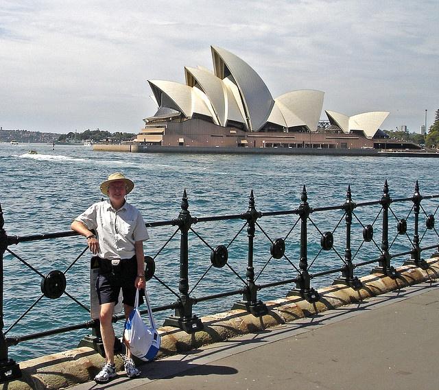 Sydney Opera House and me, via Flickr.