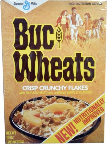 Buc-Wheats ((i really liked this cereal & wish they had it today still))