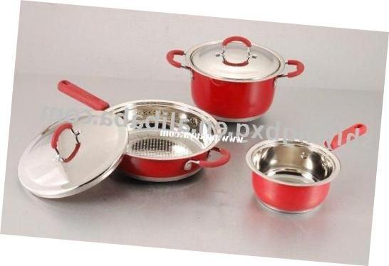 Light Red Stainless Steel #ColorDesign Of #KitchenUtensil Sets Royal Red #Kitchen Utensil Sets