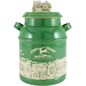 John Deere Milk Can Cookie Jar | WeGotGreen.com