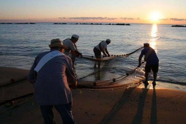 La #pesca con la sciabica a #PortoPotenzaPicena