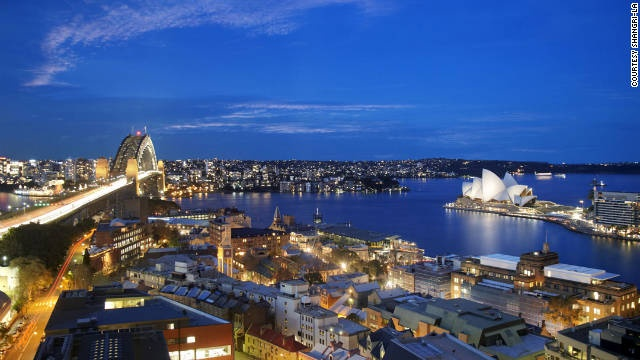 Honeymoon, NYE, Shangri-La, Sydney