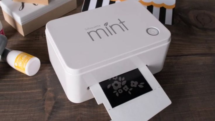 """The Silhouette Mint™ is the most innovative and powerful custom stamping system on earth. The machine's special """"thermal printing"""" ability…"""