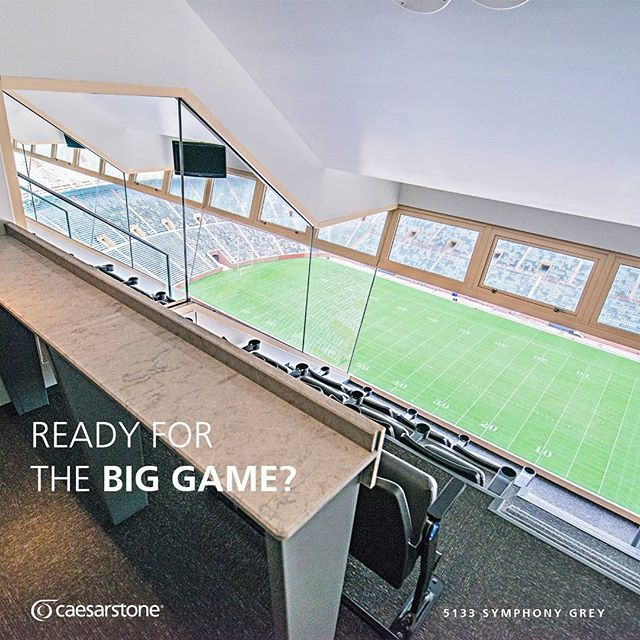 Be Gameday Ready With Caesarstone Countertops  Theyu0027re