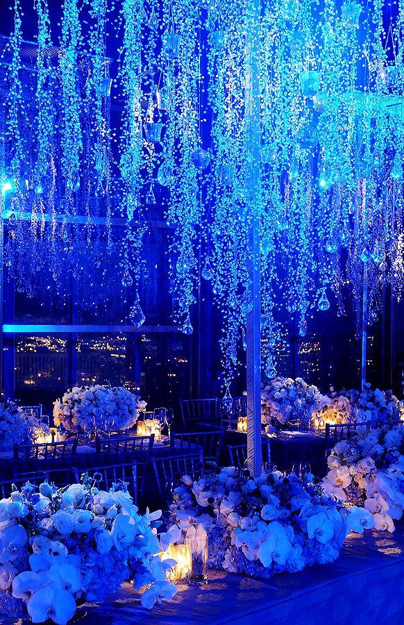 Winter Wonderland Reception II: Centerpieces | Inspirations by Preston Bailey Keywords: #royalblueweddings #jevelweddingplanning Follow Us: www.jevelweddingplanning.com www.facebook.com/jevelweddingplanning/