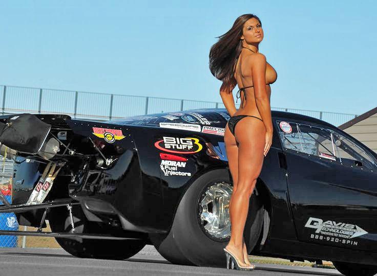 nude girls car races