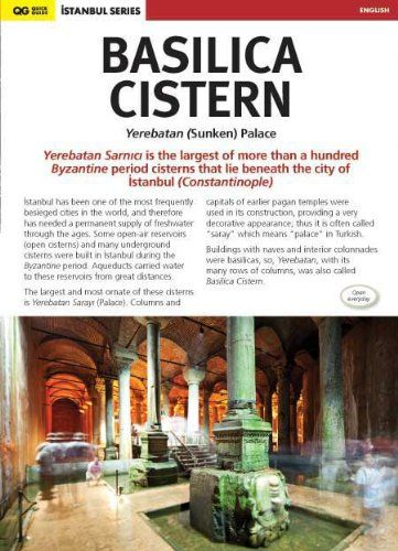Basilica Cistern - Yerebatan (Sunken) Palace: Istanbul