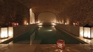 """Arab bath in Seville - One of our favorite is the """"Aire de Sevilla"""" very authentic Spa and Hammam in a beautiful environment."""
