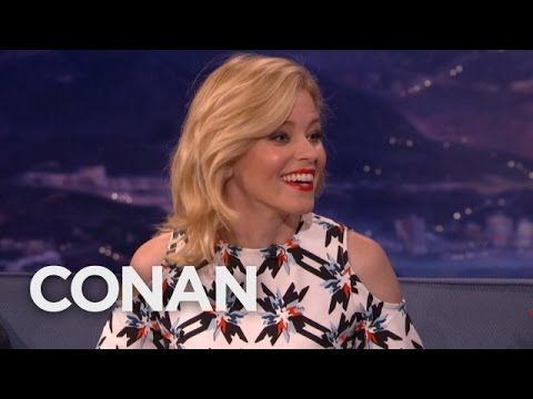 Elizabeth Banks: My Husband Would Sleep With Tom Brady  - CONAN on TBS