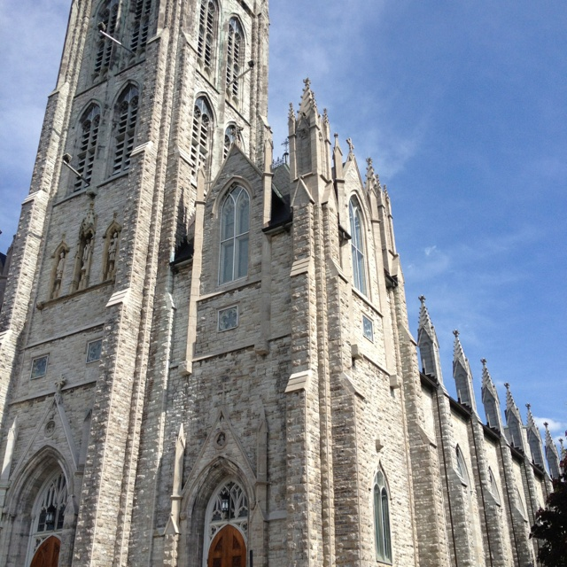 St. Mary's Cathedral. Kingston, Ontario.