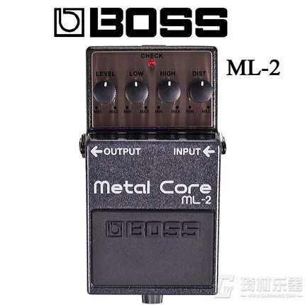 129.99$  Buy now - http://alimdg.worldwells.pw/go.php?t=32720362596 - Boss Audio ML-2 Metal Core Distortion Pedal with Low and High settings, Metal Case Construction