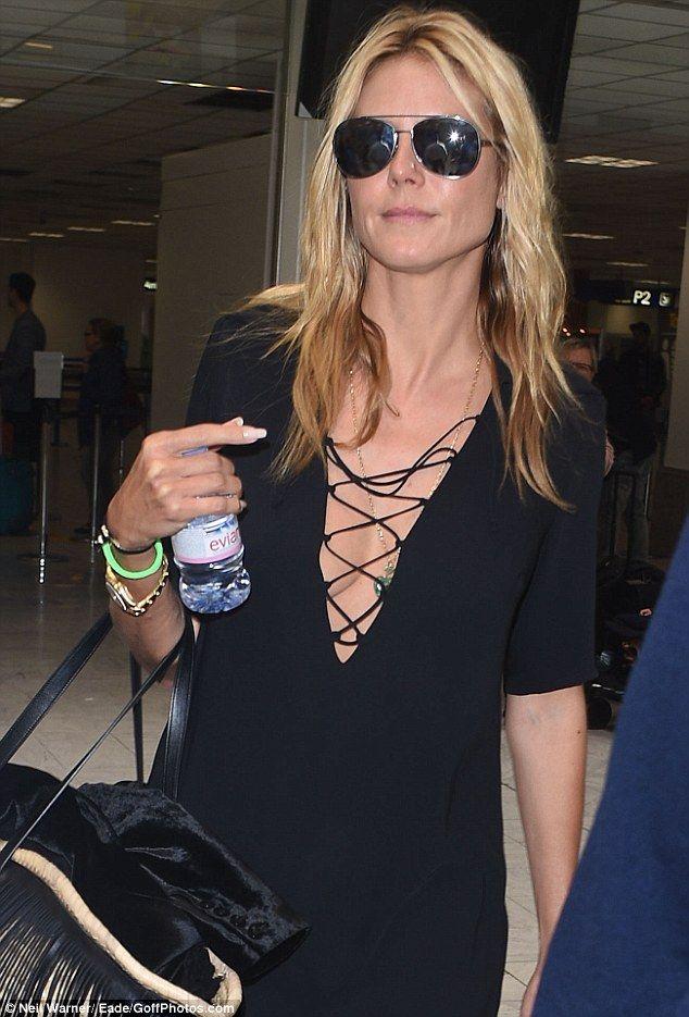 Heidi Klum and Vito Schnabel lead the stars leaving Cannes