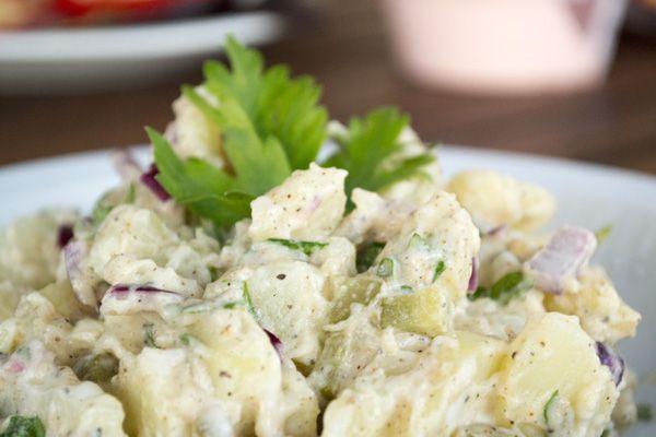 Een golden oldie! Aardappelsalade voor bij de BBQ