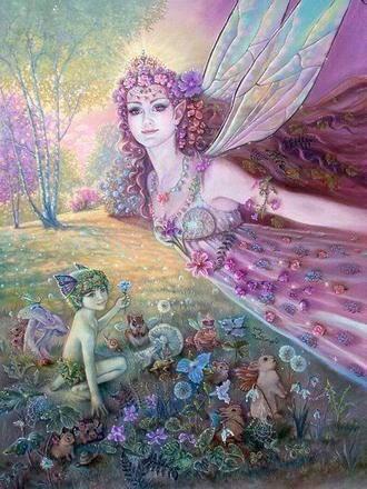 I love fairy art..