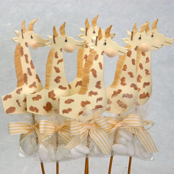 Giraffe Sticks So Cute!