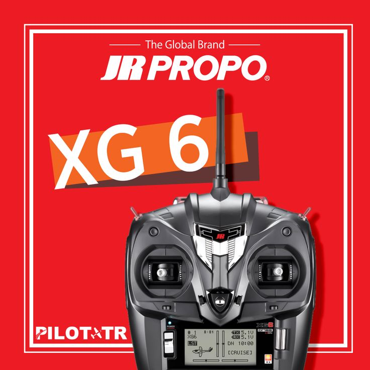 JR PROPO! http://www.pilottr.com/jr/    #pilottr #jr #jrpropo #xg6 #rc #model #kumanda #radio #remote #control #globalbrand #uçak #airplane #aircraft #helikopter #helikit #helicopter #fly #like