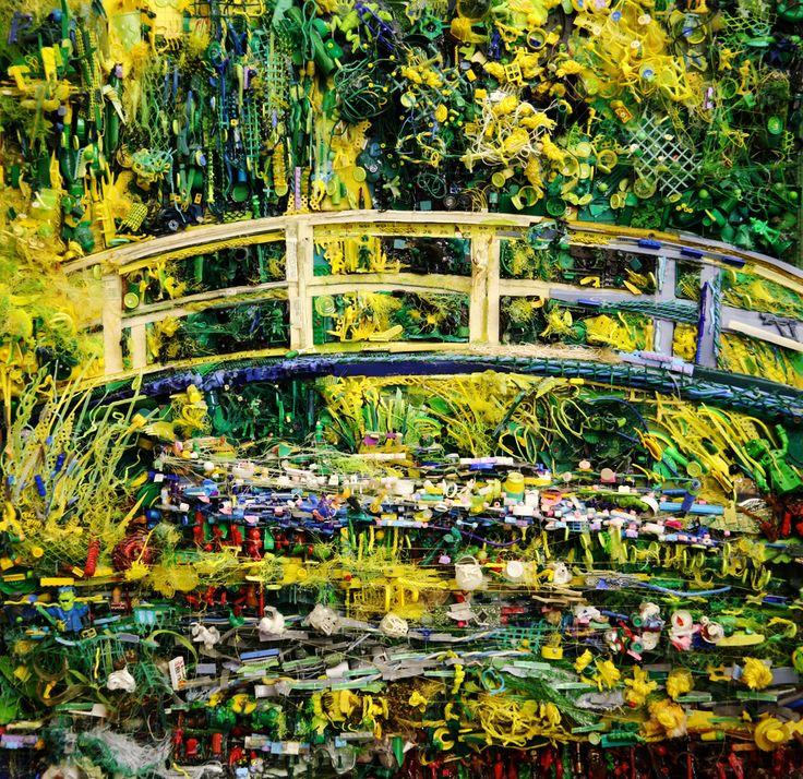 TOM DEININGER. Stroking Monet. 2010s