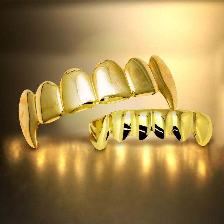 Vampire Grillz Zilver  Maak de blits op ieder feestje met deze gouden of zilveren Vampier Grillz  EUR 14.95  Meer informatie