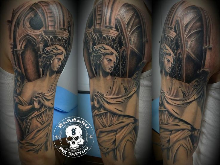 #tattoo #tattooed #tattooist #bestspaintattooartist #sculpturetattoo #blackandgreytattoo #religioustattoo