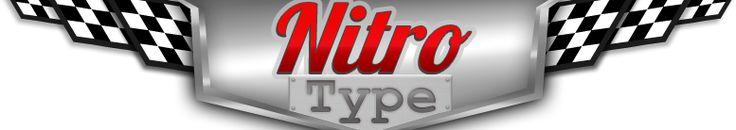 Competitive typing game Nitro Type Logo