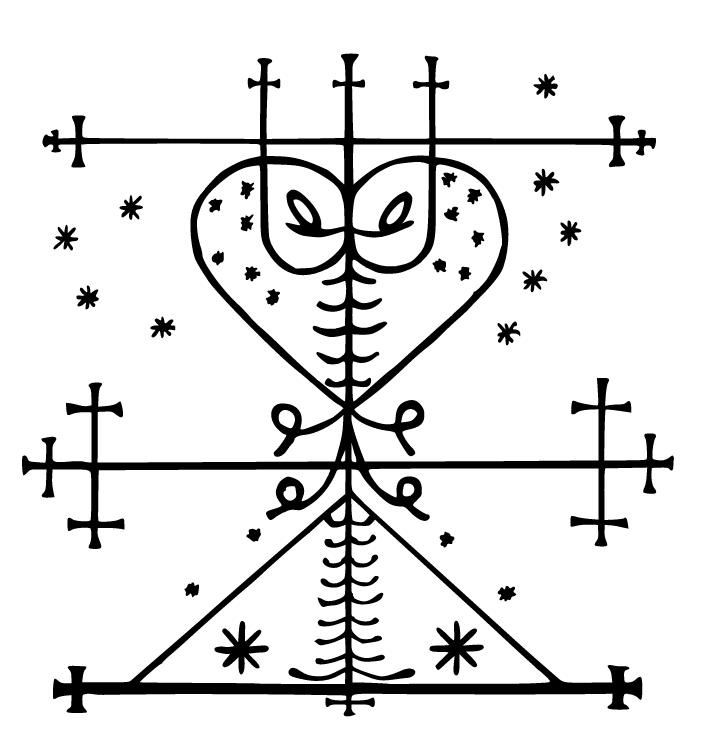 Haitian Voodoo Symbols Images