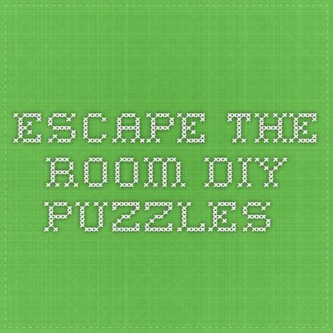 18 best escape room game diy images on pinterest escape room diy escape room puzzles and. Black Bedroom Furniture Sets. Home Design Ideas