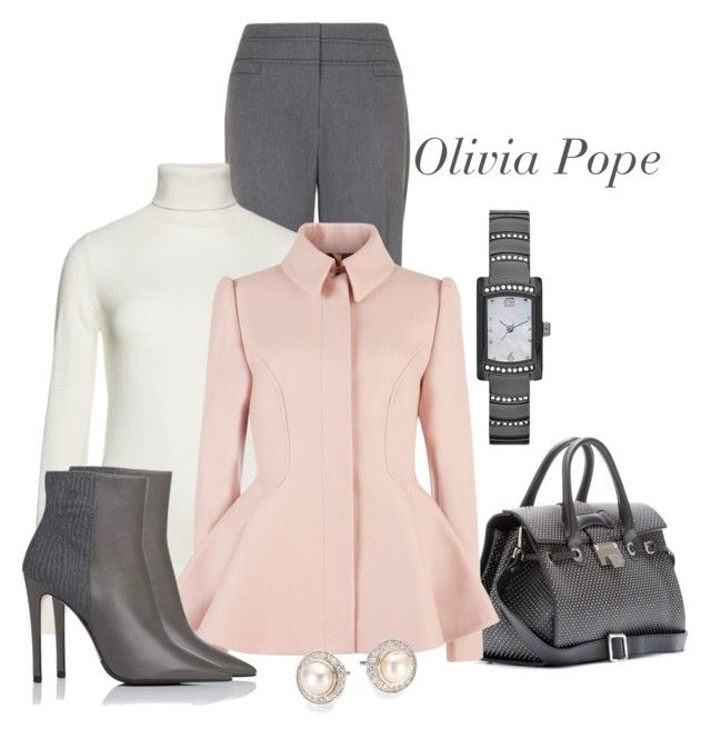 """Olivia Pope."" by dgia ❤ liked on Polyvore featuring Phase Eight, Benetton, Jimmy Choo, Ted Baker, L.K.Bennett and David Yurman"
