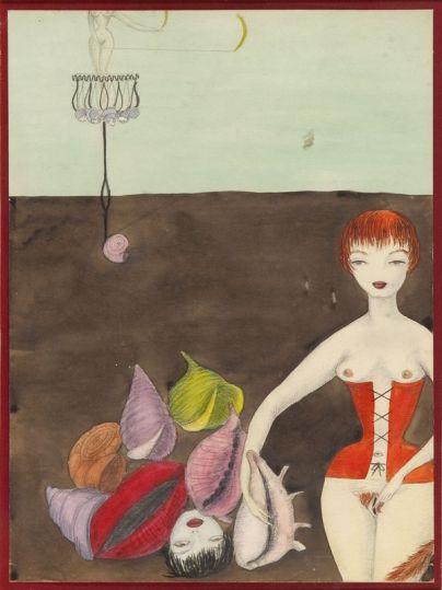 Kazimierz Mikulski - Projekt ilustracji do książki Erotyzm po polsku