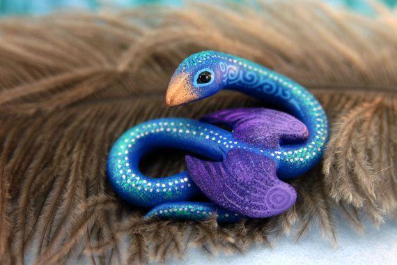 Mignon Occamy fantastique bêtes Figurine Sculpture Animal