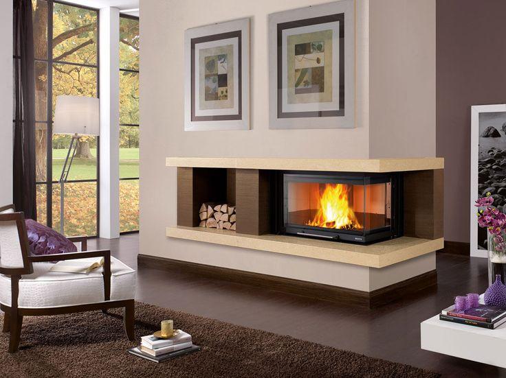 Manteau de cheminée contemporain / en marbre / d'angle BRENTA  Nordica