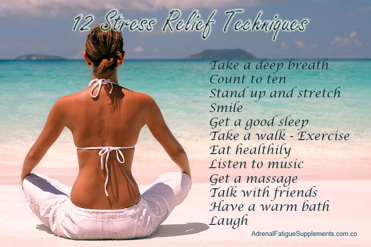 Reduce stress and stay healthy. #nostress #relax