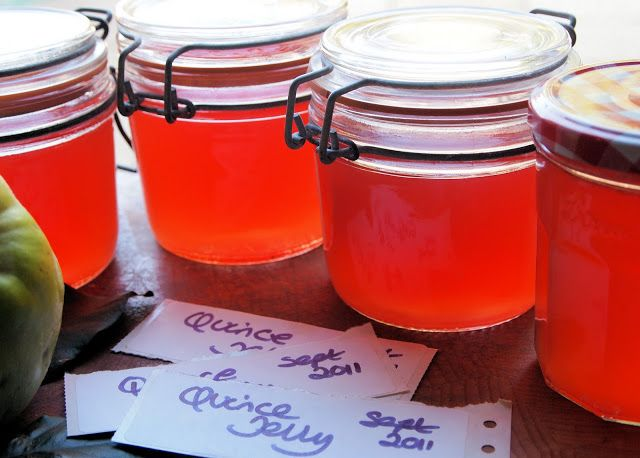 Home-made Quince Jelly Recipe - Lavender and Lovage