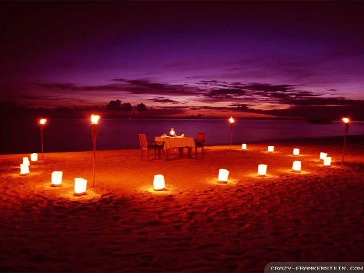 Cena Hd Wallpaper Romantic Beach Com Picture 1024x768 Lovely Romantic