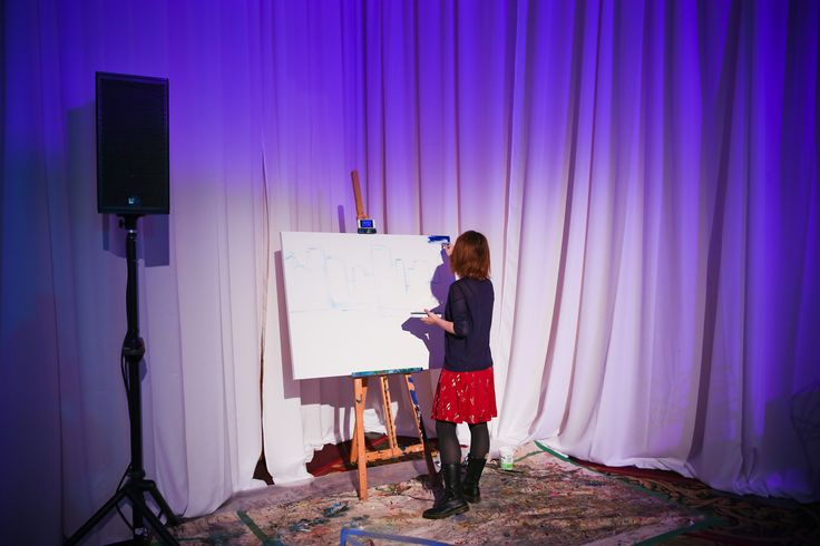 Give attendees an opportunity to relax and be creative by providing all the supplies they need to paint.