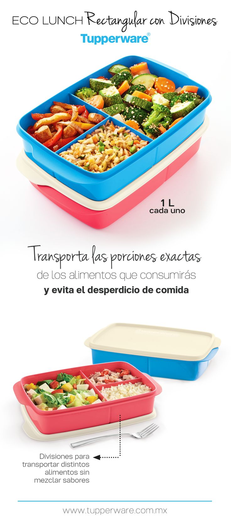 Eco Lunch #ProductoTupperware #Tupperware