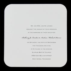 Hobby Lobby Square Invitations; 50 For $24.99