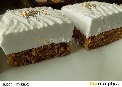 Povidlová buchta se šlehačkou recept - TopRecepty.cz