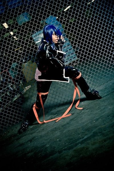 [Well just fine isn't good enough! by ~xxravendecoyxx  Character: Wanjima Agito  Series: Air Gear]