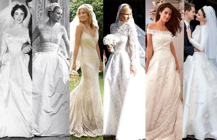 Os vestidos de noiva mais icónicos de sempre