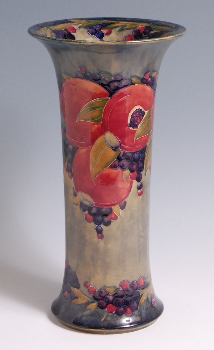 821 best fabulous moorcroft pottery images on pinterest an early 20th century moorcroft pottery vase in the pomegranate pattern reviewsmspy