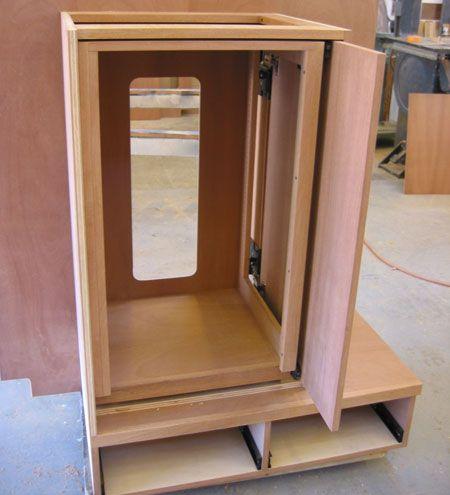 Pocket Door Pocket Door Cabinet