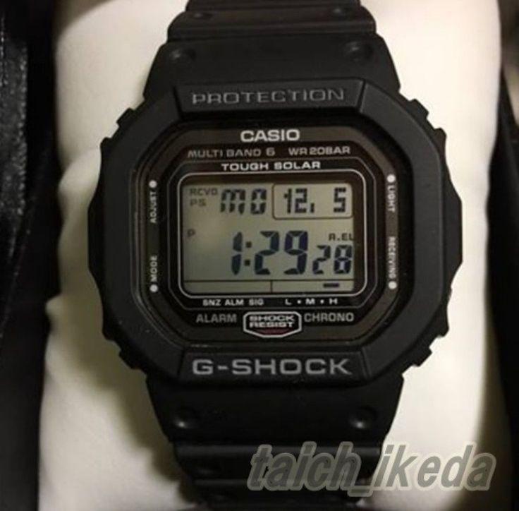 CASIO GW-5000-1JF G-SHOCK Tough Solar Atomic Radio Watch JAPAN Men's GW-5000-1 4971850428602   eBay
