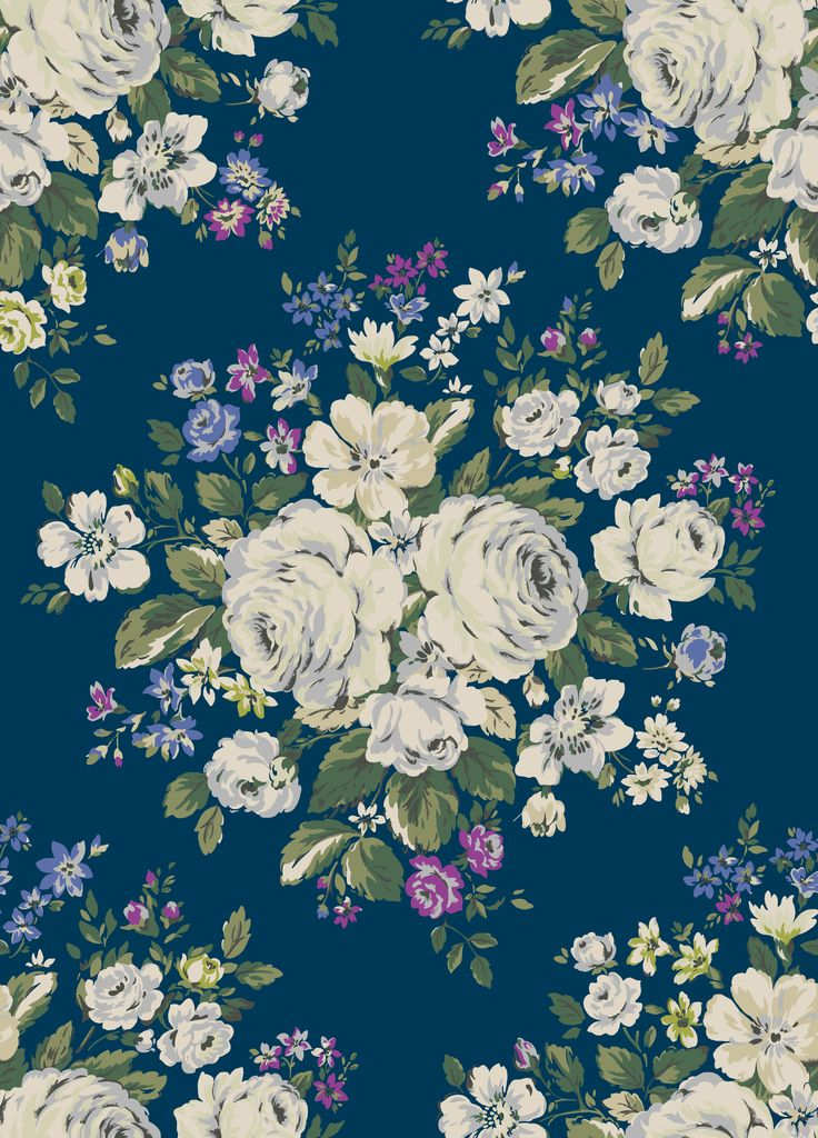 Hampstead Rose | For AW15, we recoloured AW13's beautiful Hampstead Roses in porcelain white, with accent colours inspired by an antique pillowcase.  | Cath Kidston Library Collection AW15 |