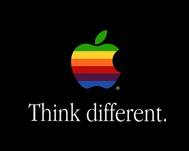Think different. #Apple Computer
